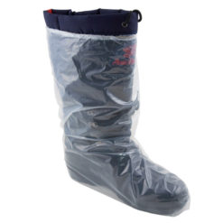 16-inch Clear Polyethylene Boot Covers with Elastic