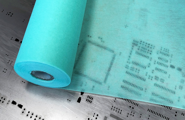 Get-to-Know-Your-PCB-Printer-Stencil-Wiping-Roll